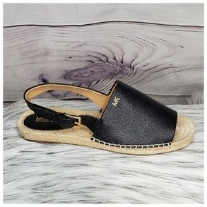 🆕️ Michael Kors Women's Fisher Black  Espadrille
